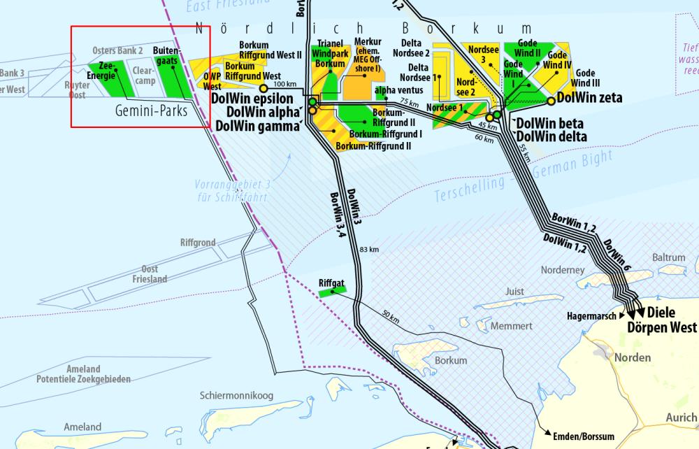 Offshore Netz Norddeich